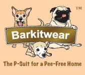 Barkitwear® P-Suits for Dogs